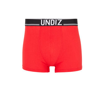 Boxer rouge omerchil red.