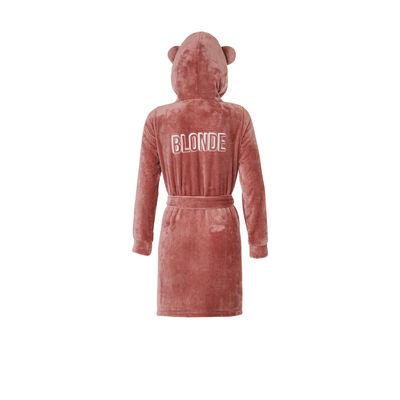 Soblondiz powder pink bathrobe;${refinementColor}