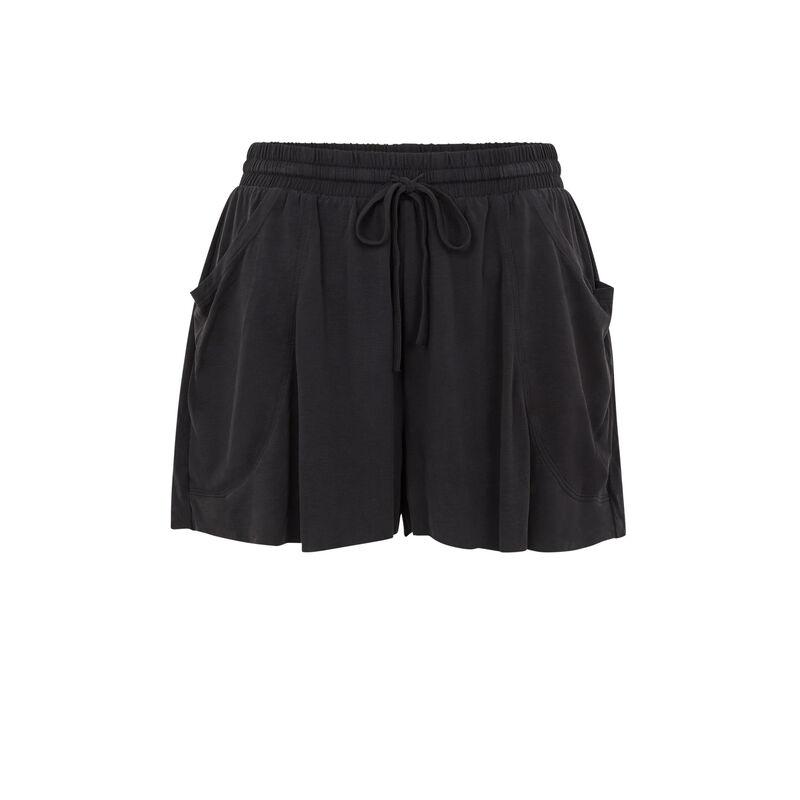 Short uni fluide - noir;