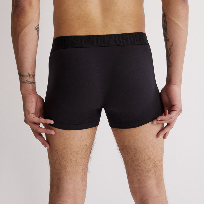 boxer coton bio oreliz - noir;
