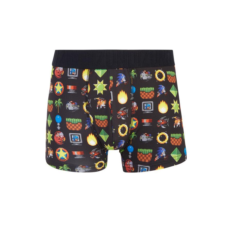 Hedgehogiz black boxer shorts;${refinementColor}