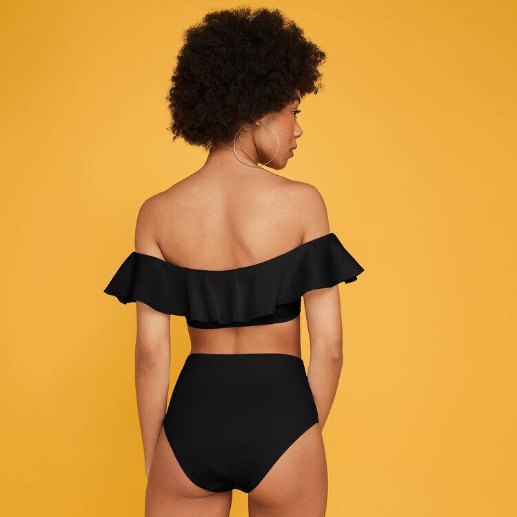 Culotte taille haute noire sabliz;