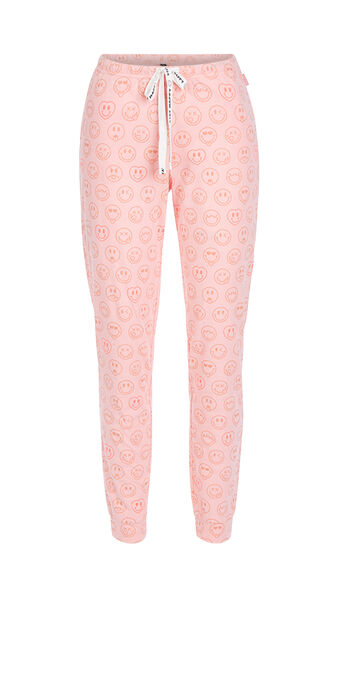 Pantalon rose fluo quadripiz pink.