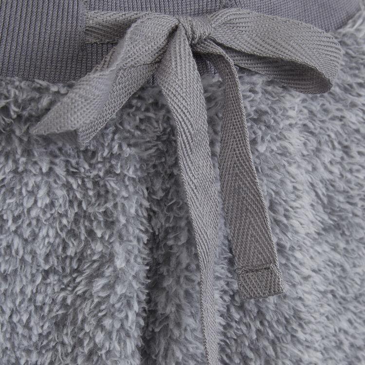 Pantalon gris ribpoiliz;