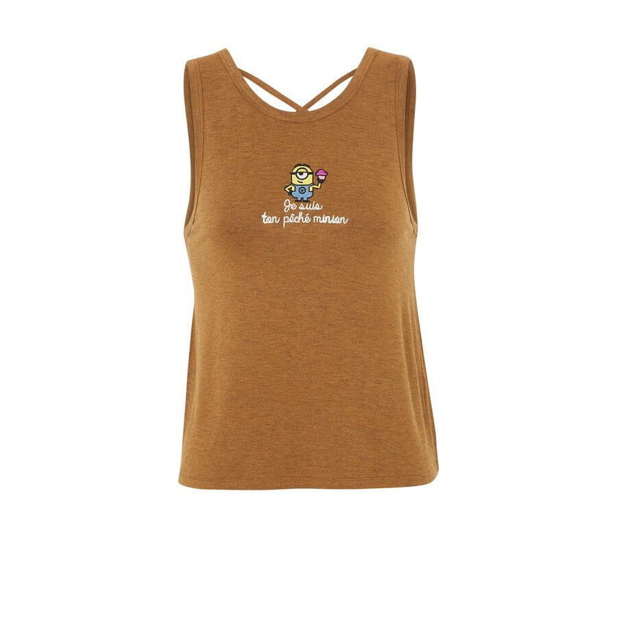 Badmiz brown top;${refinementColor}