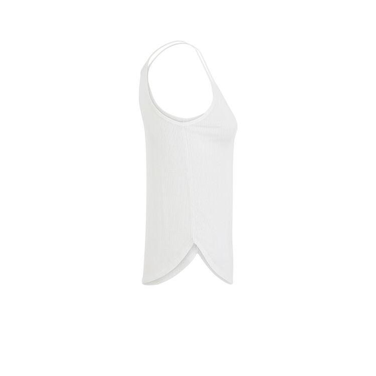 Top blanc cassé debfluidiz blanc.