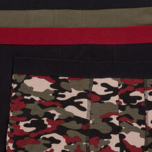 Set of three militiz boxer shorts black.