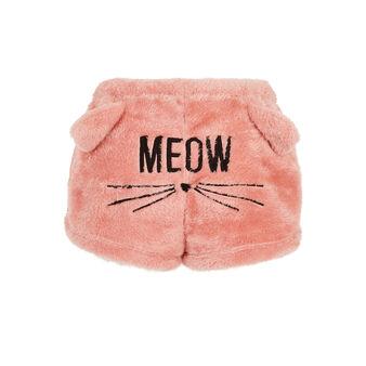 Gatoniz plush pink shorts pink.