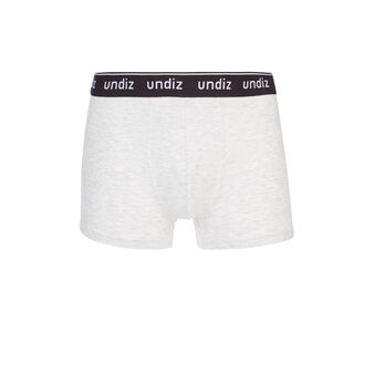 Boxer gris clair chiné heracliz grey.