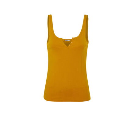 Top couleur ocre newdebidiz yellow.