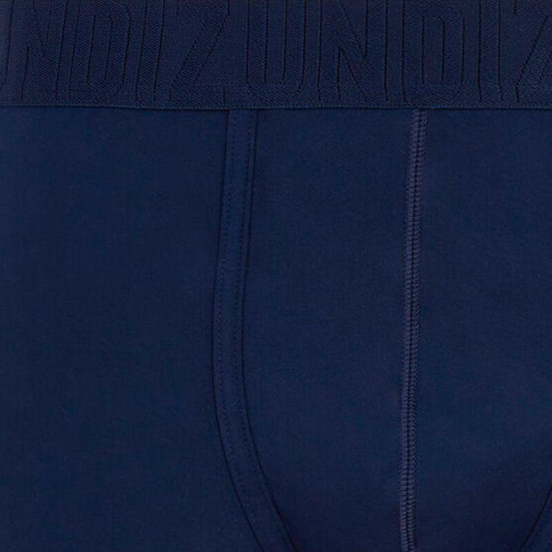 boxer uni en microfibre bio - bleu marine;