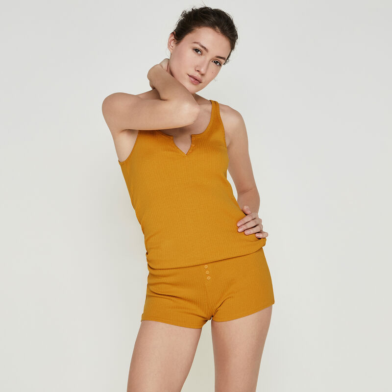 Short couleur ocre newdebidiz;