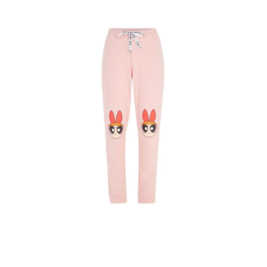 Pantalon rose nanabelliz;