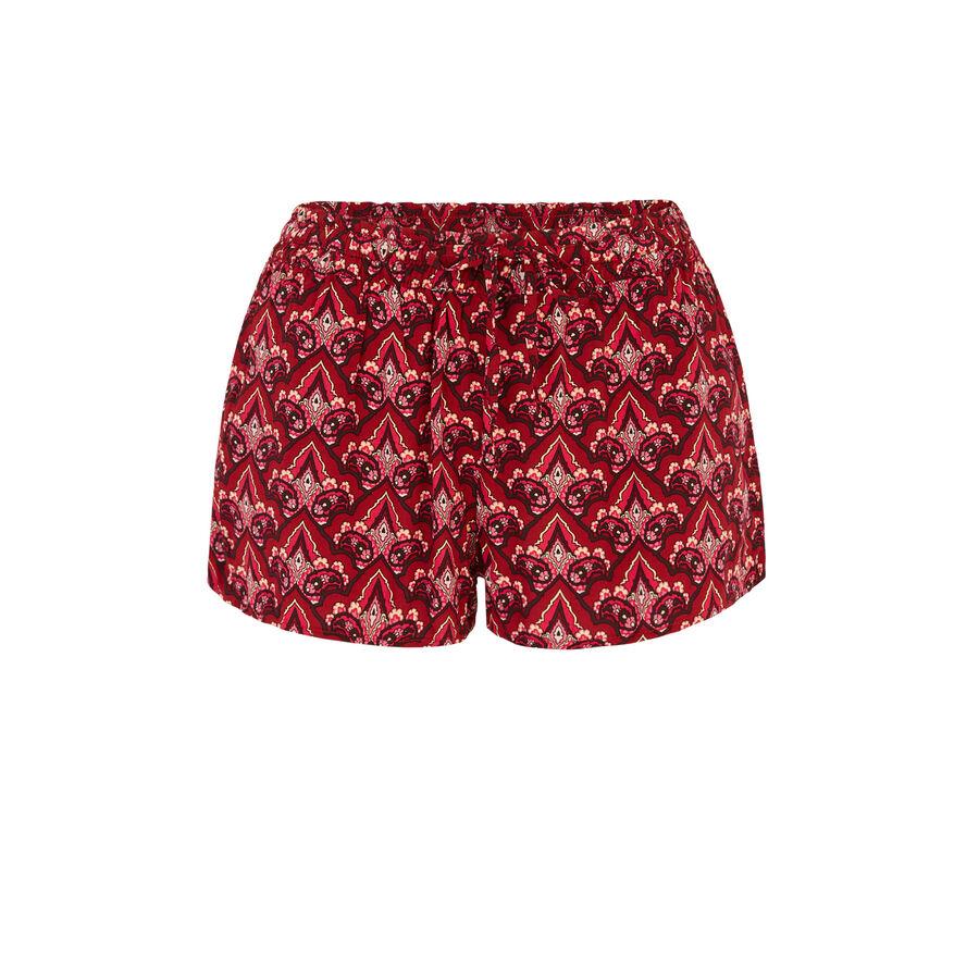 Short rouge robetiz;