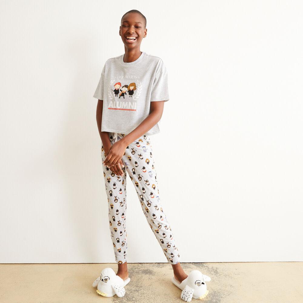 pantalon de détente Homme Harry Potter Pyjamas Alumni Poudlard Pjs Gryffondor T-shirt
