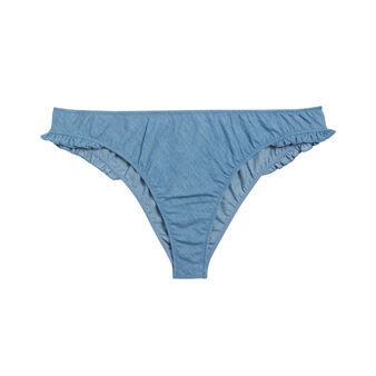 Tanga jean belliz blue.