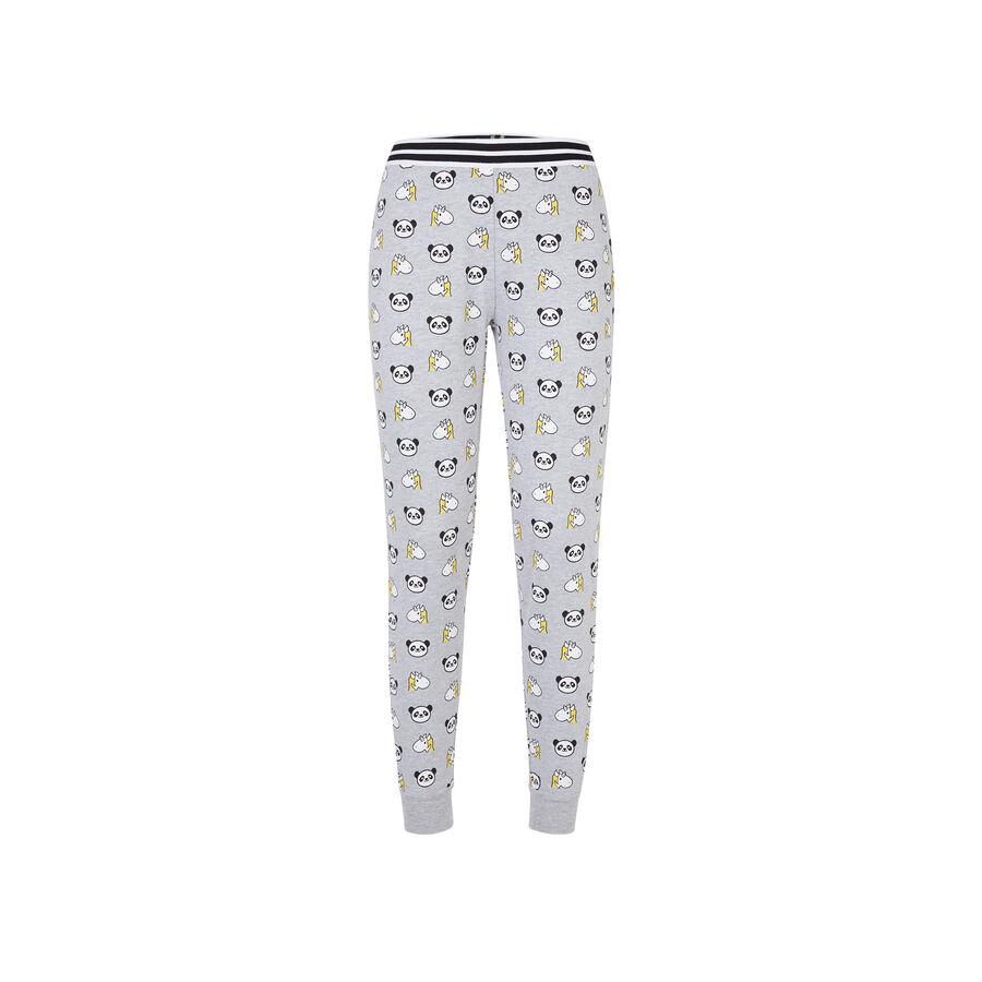 Grolaziz light grey trousers;${refinementColor}