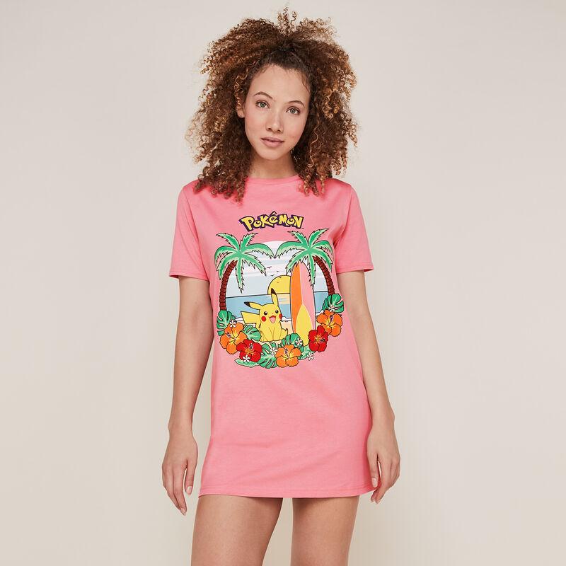 Tunique pikachu - rose;