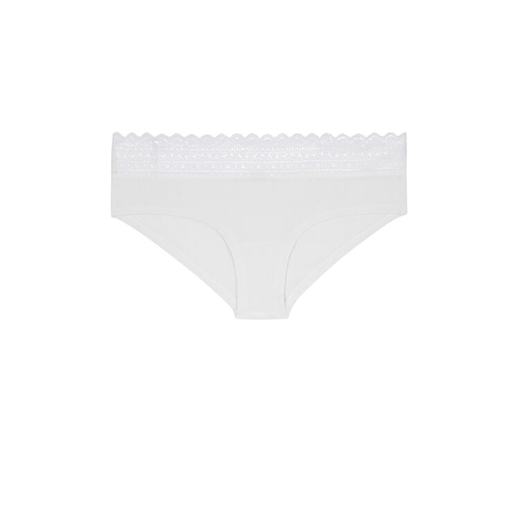 Shorty blanc cassé waistiz white.