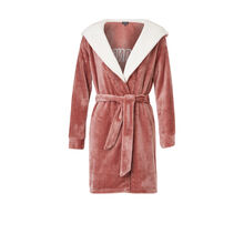 Soblondiz powder pink bathrobe pink.