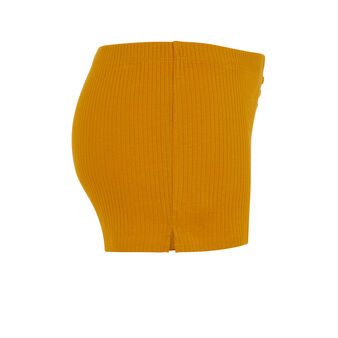 Short couleur ocre newdebidiz yellow.