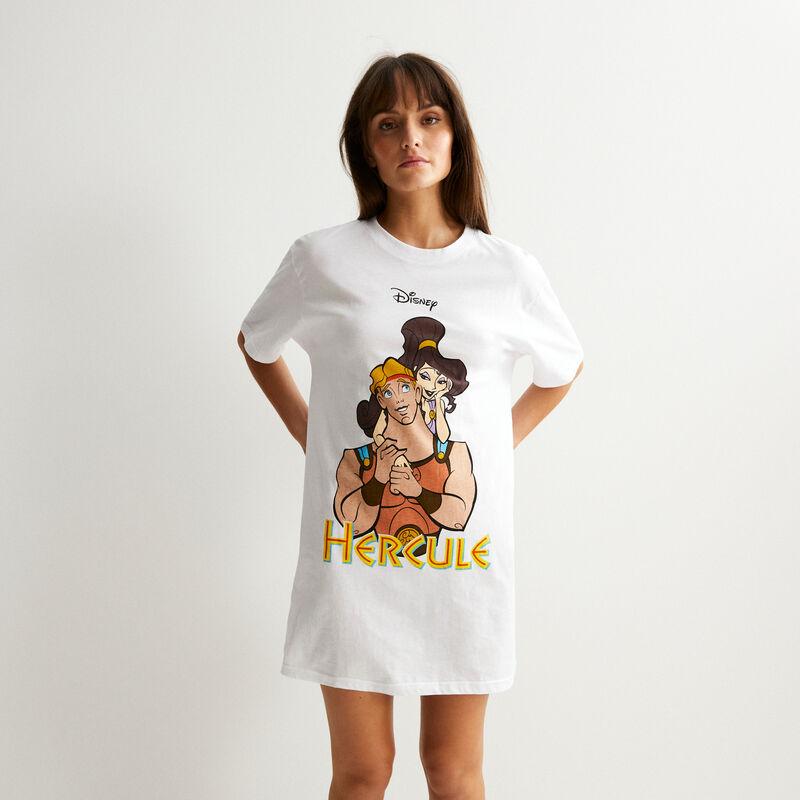 set tunique et culotte Hercule - blanc;