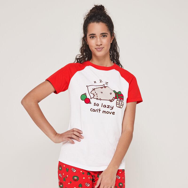 Set pyjama top + pantalon imprimé Pusheen pusheenaniz;