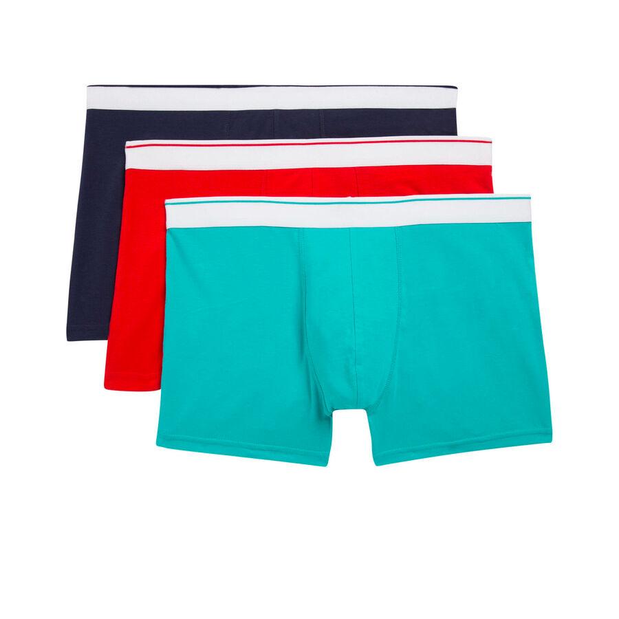 Set of three Tartariz boxer shorts;${refinementColor}