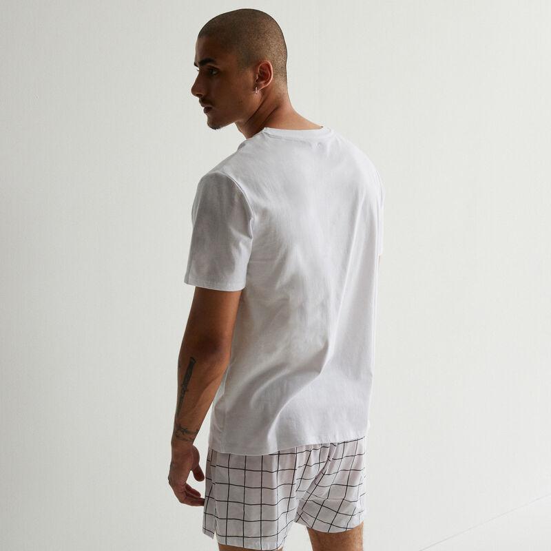 tee-shirt à imprimé Les Minions - blanc;