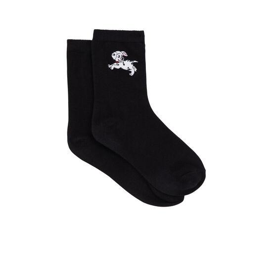 Chaussettes noires dalmasiz;