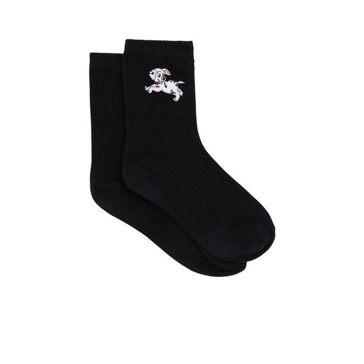 Chaussettes noires dalmasiz black.