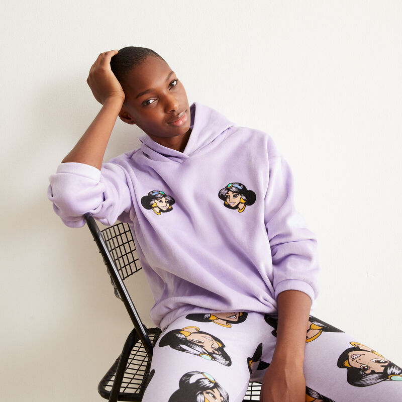 polaire sweat Jasmine - violet;