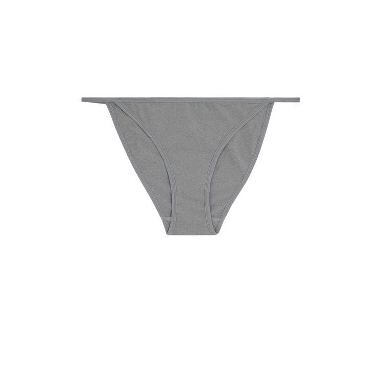 Slip gris microchiniz gris.