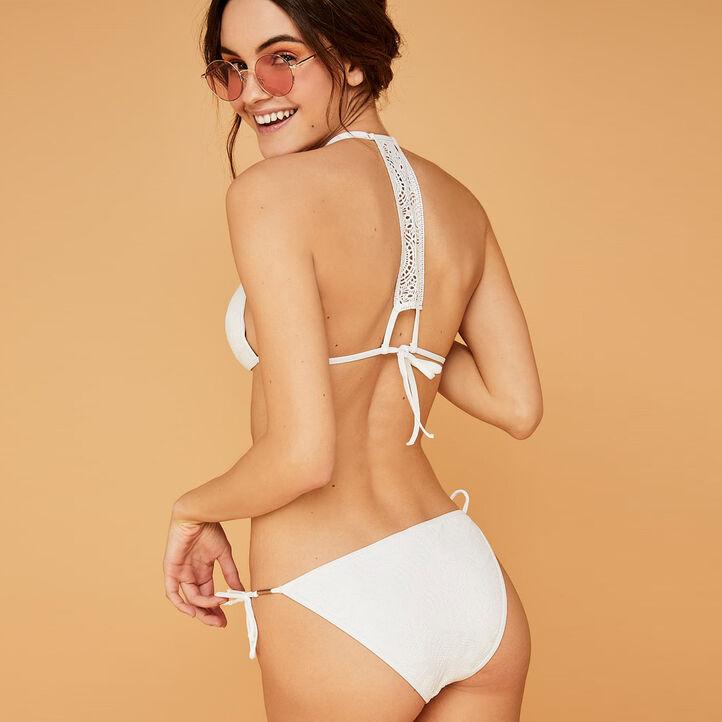 Bikini blanc lagooniz weiß.