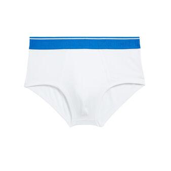 Boxer court blanc slipiz white.