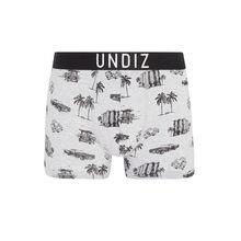 Chevroliz grey boxer shorts grey.