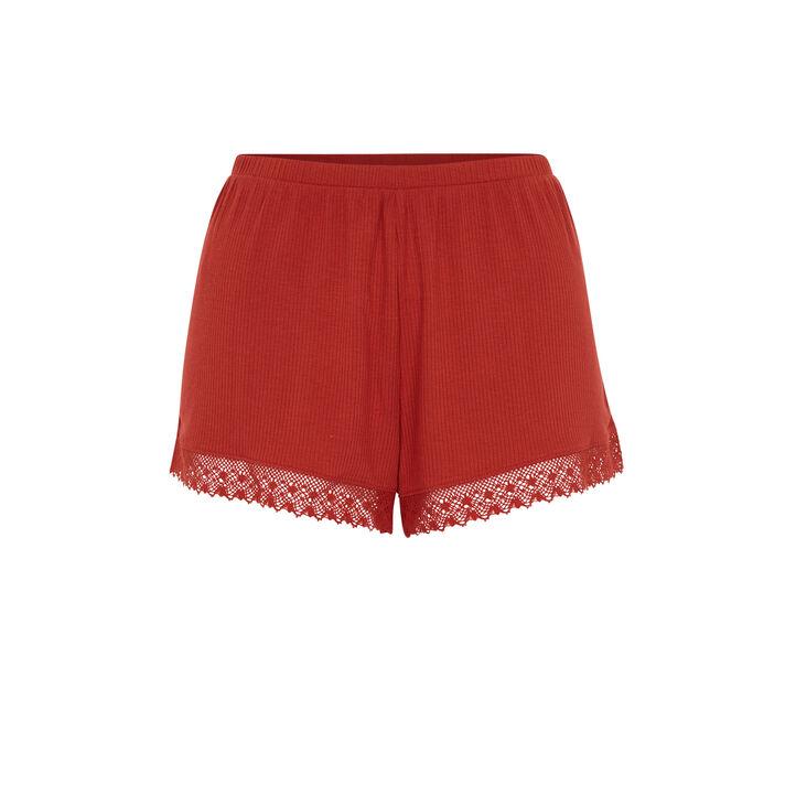Short couleur brique newpompiz red.