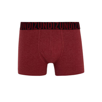 Boxer bordeaux oreliz red.