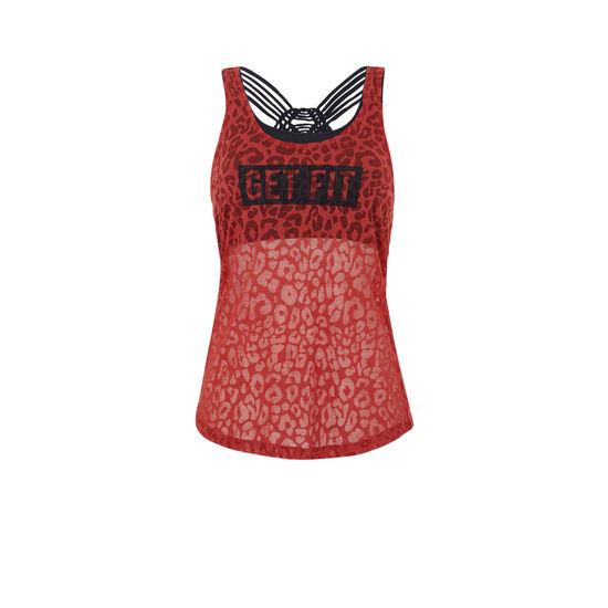 Top rouge afropunkiz;