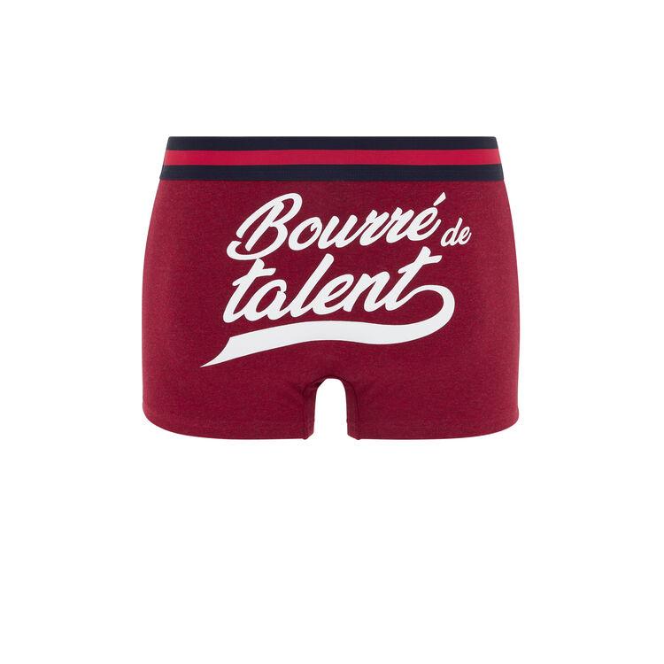 Boxer en coton à message boutaleiz;