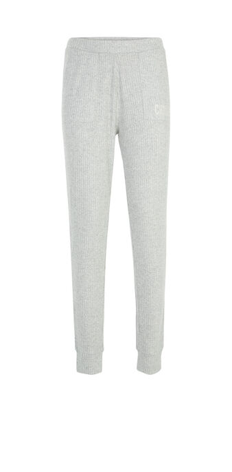Pantalon gris clair loungepochiz grey.