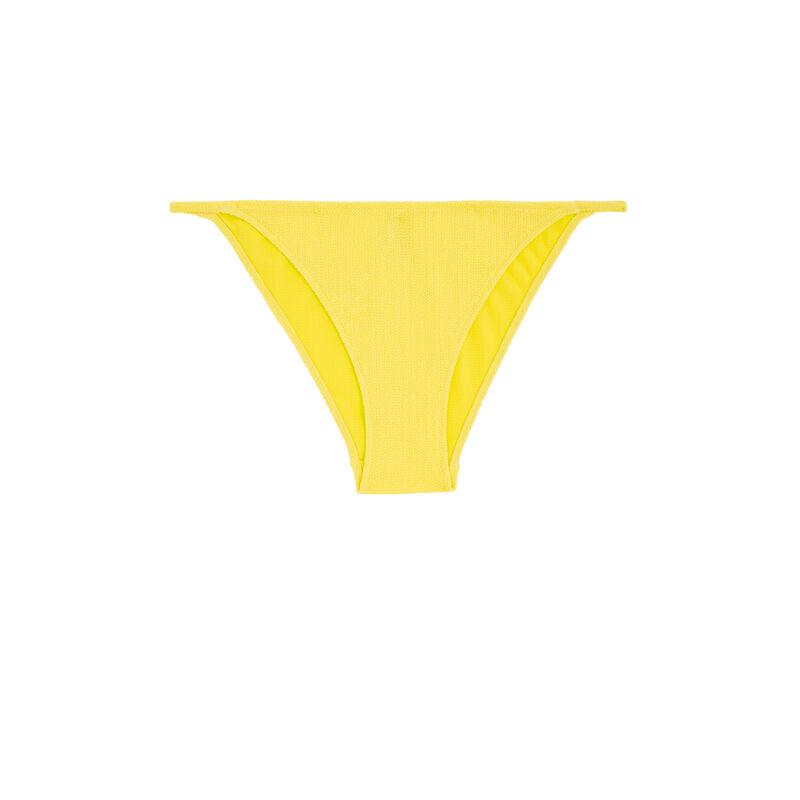 Bas de maillot de bain jaune sikiniz;