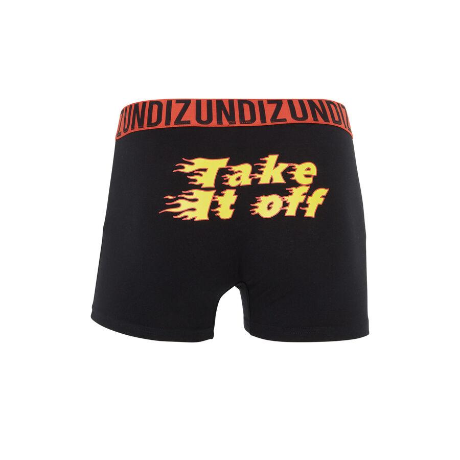 Toomuchiz black boxer shorts;${refinementColor}
