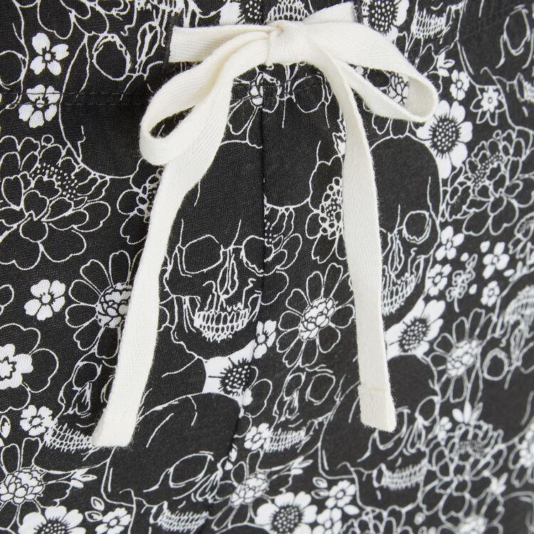 Pantalon noir squeflowiz;