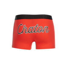 Chatouniz red boxer shorts red.