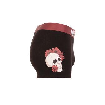Skullcooliz black boxer shorts black.