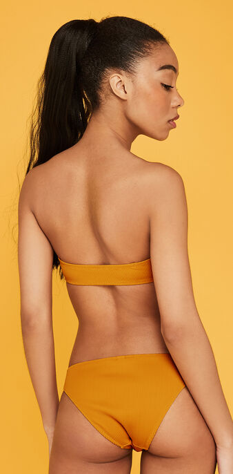 Bandeau couleur safran gaufriz yellow.