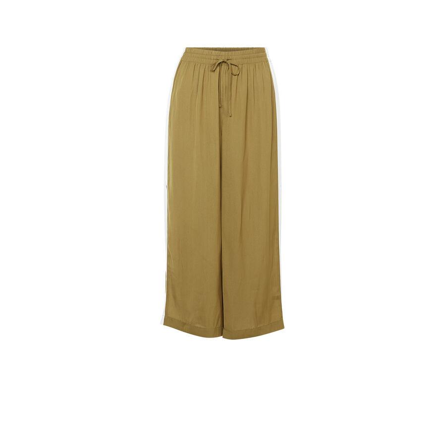 Pantalon vert olive bacurtiz;