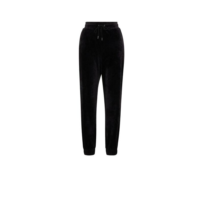 Pantalon en velours - noir;
