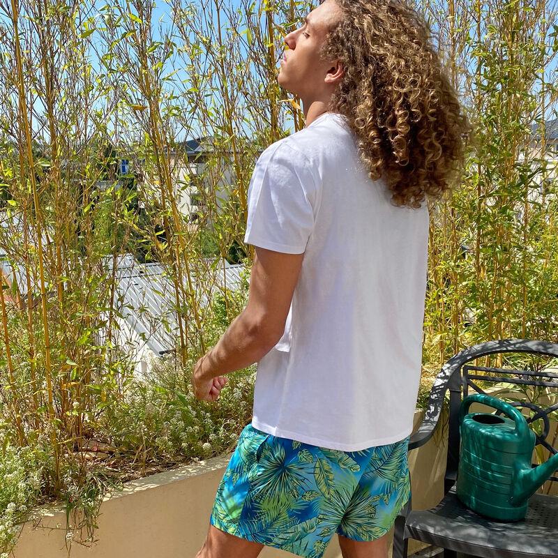 Short de bain homme - bleu turquoise;
